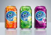 Fruit flavored drinks