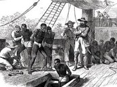 The First the begin slave trade