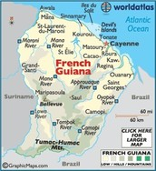 About French Guiana...