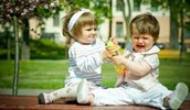 Mi hermana y yo, nos gustábamos pelear.