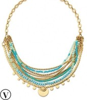 Isa Disk Necklace $59