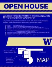 Join us to learn more about programs, classes, internships, and resources for Communication majors!