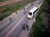 חסימת האוטובוסים בדרכם לעצרת הימין בנתיבות