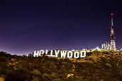 """500px.com,. """"The Hollywood Sign By Night"""". N.p., 2016. Web. 12 Jan. 2016."""