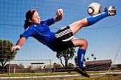 Soccer girls is the best.