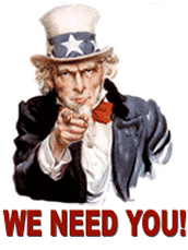 PTA IS LOOKING FOR A FEW GOOD MEN AND WOMEN!