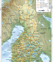 Geographic Finland