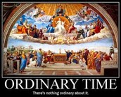 Reflection Corner:  Ordinary Time