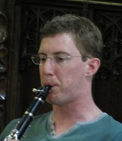 Adrian on clarinet