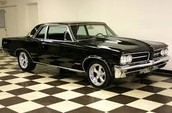Young Middle Car Pontiac GTO 1970