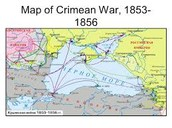 Map of Crimean War