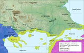 Thracian map