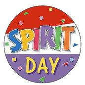 Upcoming Spirit Day- Week 6 (September 27th)