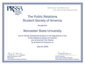 Public Relations Students Society of America