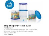Add these great Canisters to any order!!!