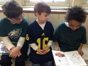 Vinnie, Will, and their buddy enjoyed a funny book