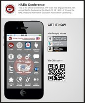 NAEA Official APP with GAAE Button