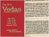 The holy book in Hinduism