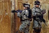 US soldiers penetrate Eastern side