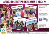 Netball Holiday Programmes