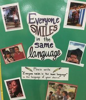 Everyone smiles in the same language at Pillow Multicultural Night!