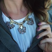 Helena Necklace $64 (retail $128)