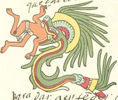 Quetzalcoatl, an Aztec deity