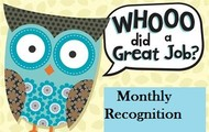 August Recognition!