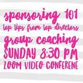 SPONSORING 101: WHO to reach out to, WHAT to say, HOW to seal the deal!