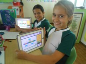 Using the Ipads to practice Problem solving