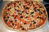 La pizza mexicaines