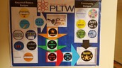 Earning badges for Project Lead The Way