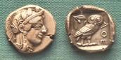 Athenian coin