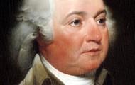 A portrait of John Adams