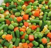 Corn, Peas, Carrots, Etc