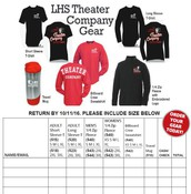 Theater Gear for Sale