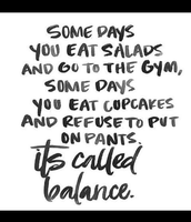 We all  need Balance in our lives!