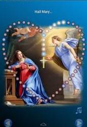 Living Rosary Prayer All School Service on Wednesday