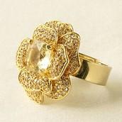 Belle Fleur Ring - Gold