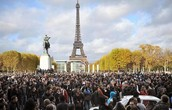 Millions come to see the Eiffel Tower yearly