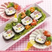 hello kitty sushi