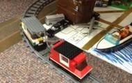 Take a tour on the Lego Express!