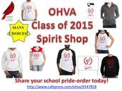 Spirit Wear Class of 2015