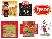 Turn in your Tyson Labels!