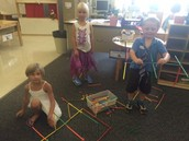 Building Structures with Straws and Connectors