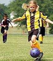Cuando yo era joven jugaba fútbol.