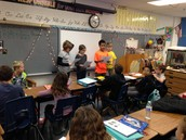 Performing a reader's theater