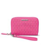 Chelsea Tech Wallet - glow pink perf