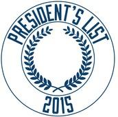 PTA Earns President's List Award!