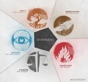 Divergent factions.